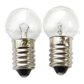 Wholesale Miniature light 6v 2.4w E10 g14 lines A066 NEW